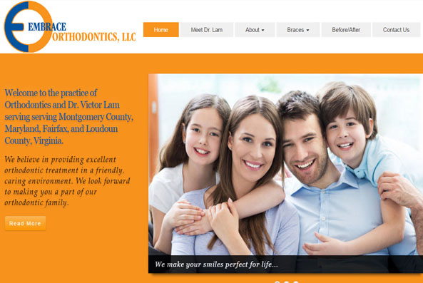 website design services Potomac MD